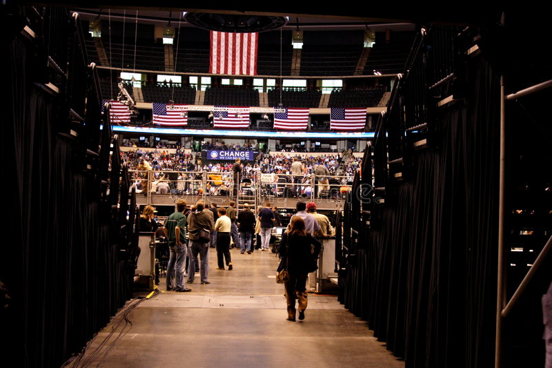 Download Obama Declares Victory In St. Paul, MN Editorial Photography - Image: 5365547