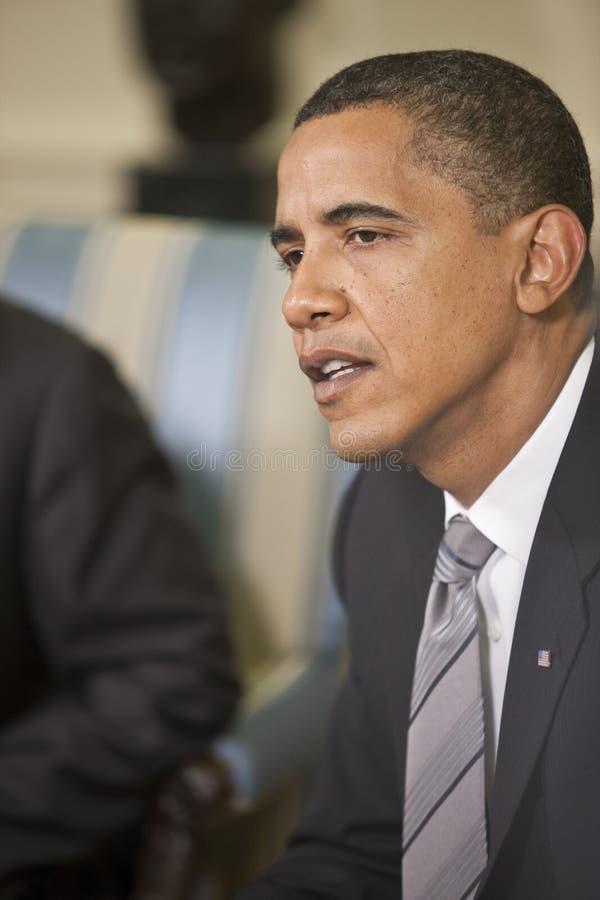 Obama do presidente Barack foto de stock royalty free