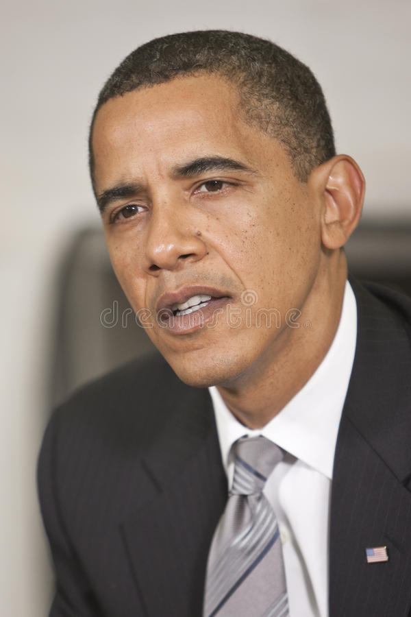 Obama du Président Barack photo libre de droits