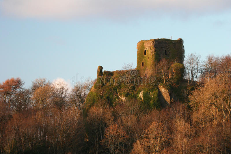 oban руины Шотландия стоковая фотография rf