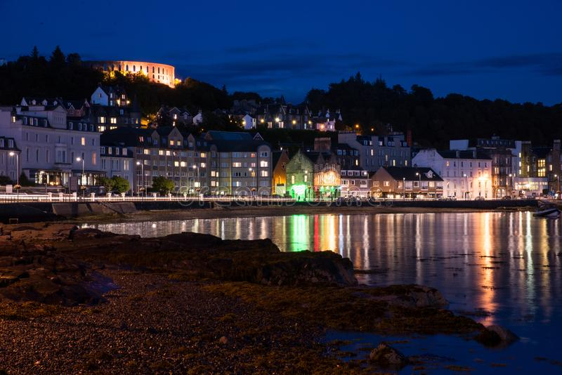 Oban- Escócia imagens de stock royalty free