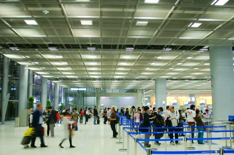 Obbligazione di aeroporto fotografie stock