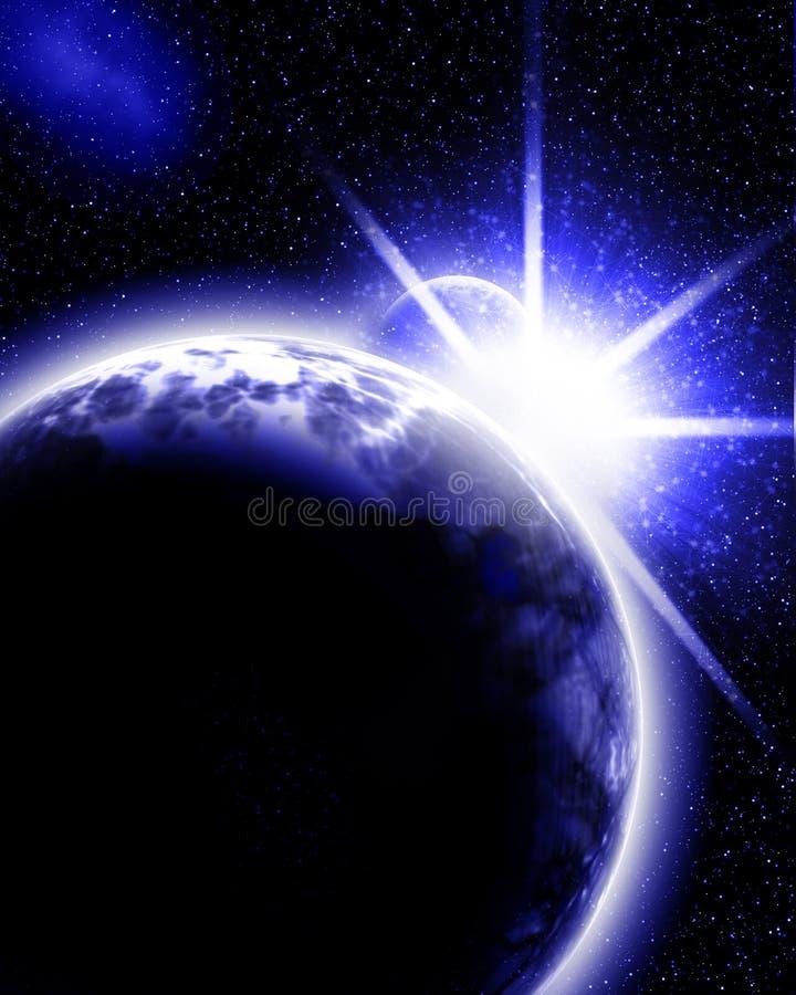 Obca planeta royalty ilustracja