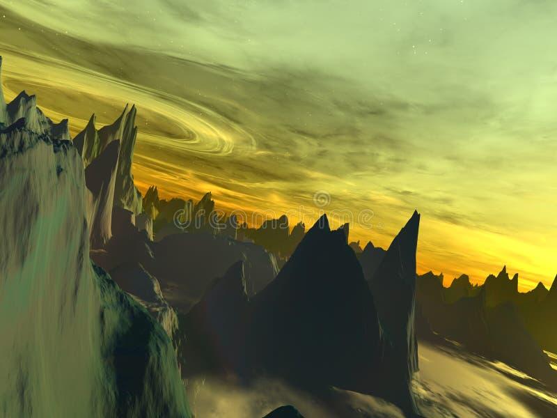 Download Obcy halton świat ilustracji. Obraz złożonej z astronomia - 28587
