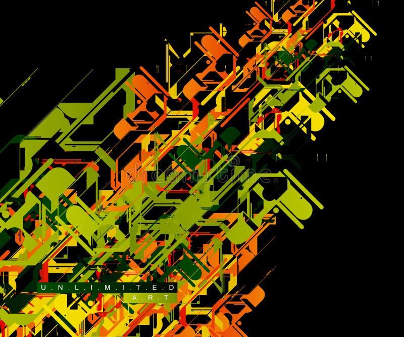 obegränsad konstbakgrund vektor illustrationer