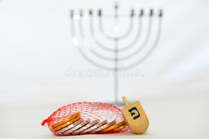 Obejects d'isolement pour Hanukkah photo stock