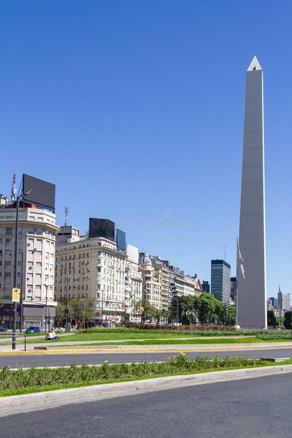 Obelisco à Buenos Aires photographie stock