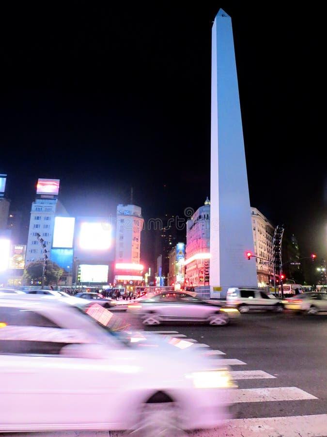 Obelisco stockfotos