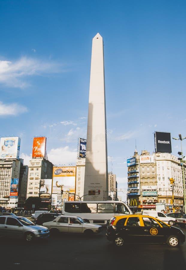 Obelisco, Buenos Aires, Argentina stock photo