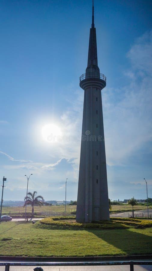Obelisco in Colombia fotografia stock