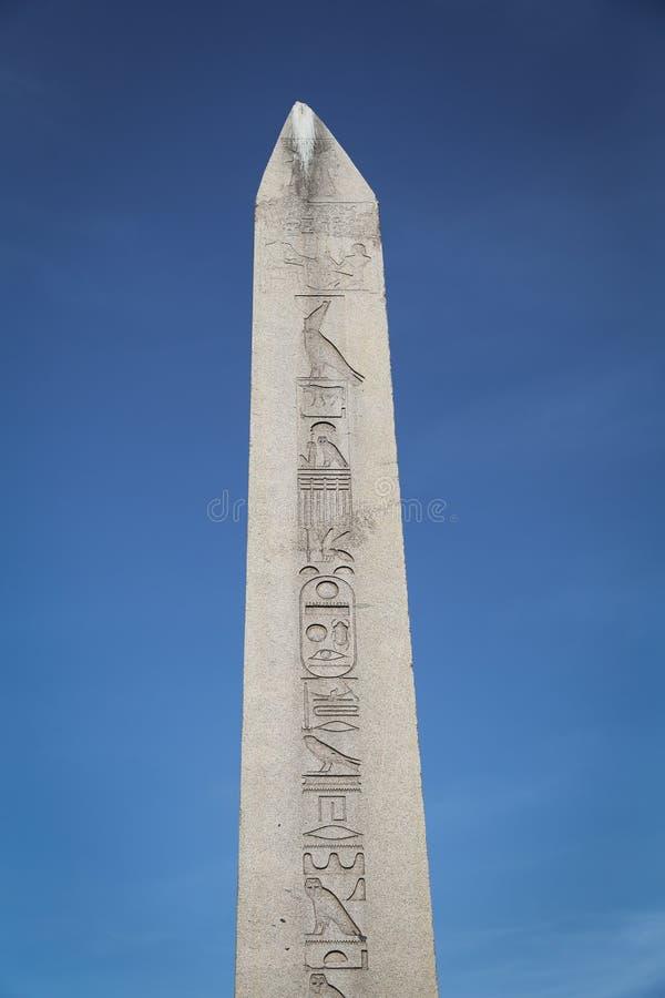 Obelisco de Theodosius em Istambul, Turquia imagem de stock royalty free