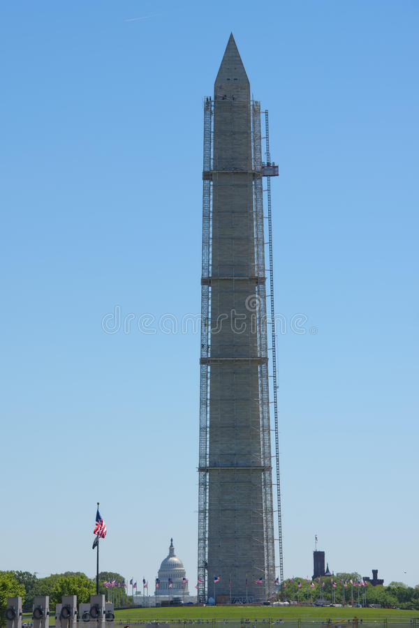 Obelisco de Washington Monument imagenes de archivo