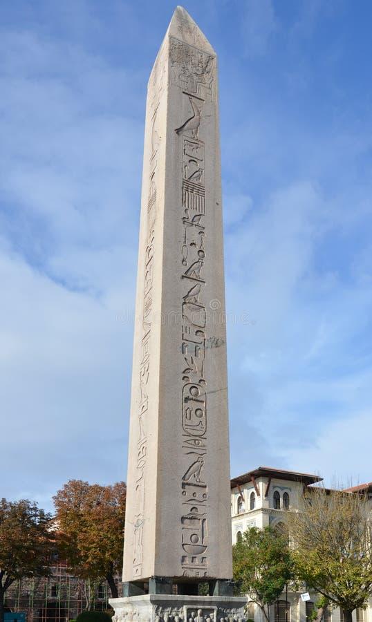 Obelisco di Thutmosis III fotografia stock libera da diritti