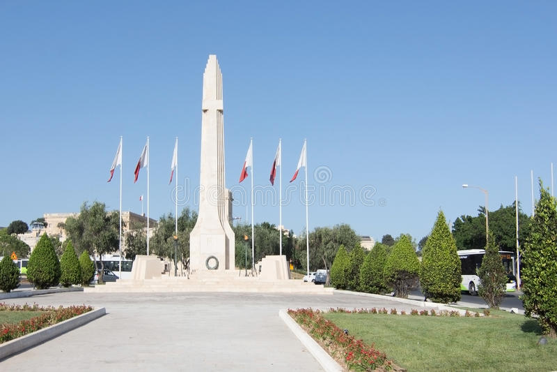 Obelisco do memorial de guerra fotos de stock