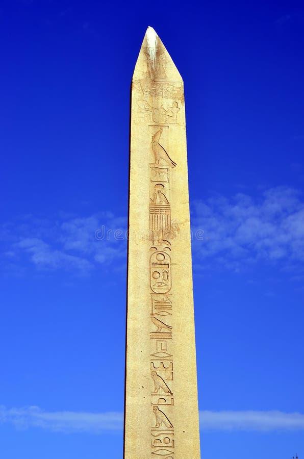 Obelisk av Theodosius arkivbild