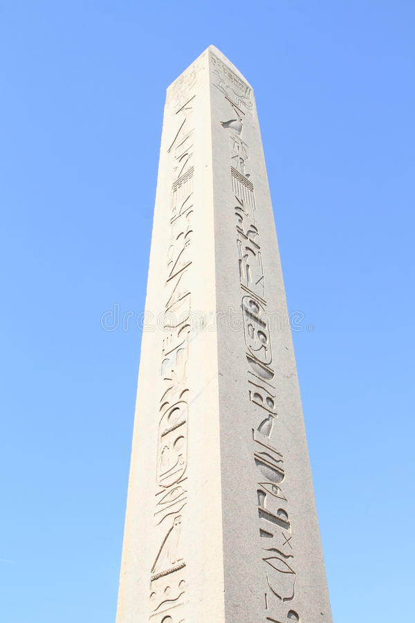 Obelisk av Theodosius arkivfoto