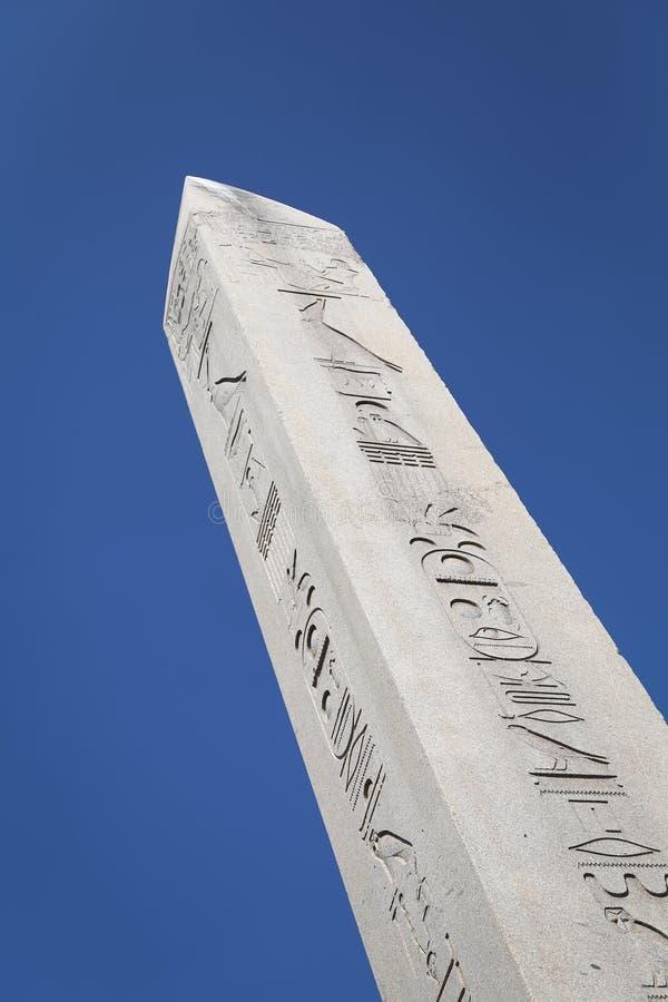 Obelisk av Theodosius i den Istanbul staden royaltyfria bilder