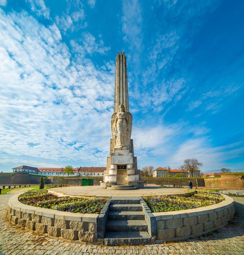 Obelisk Of Horea, Closca And Crisan, Alba Iulia, Romania. Obelisk Of Horea, Closca And Crisan, Alba Iulia, Transylvania, Romania royalty free stock images