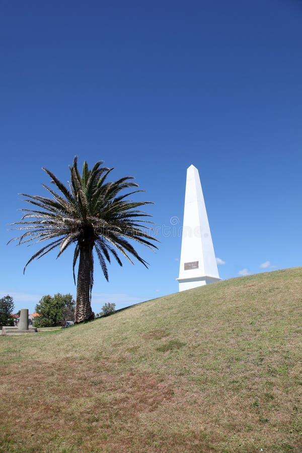 Obelisk - Newcastle Australia fotografia stock libera da diritti