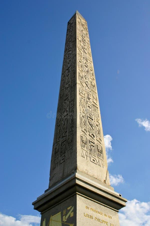 Download Obelisk of Paris stock photo. Image of tower, built, touristic - 27694144