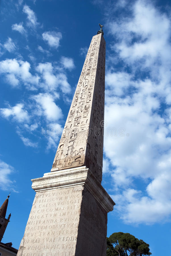 Download Obelisk in Rome stock photo. Image of dynasty, building - 12051092