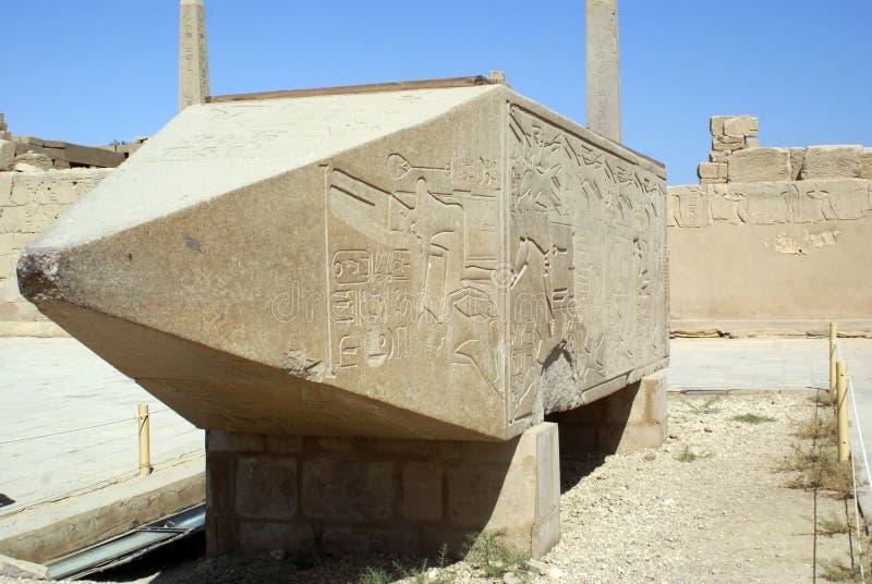 obelisk ruiny zdjęcia stock