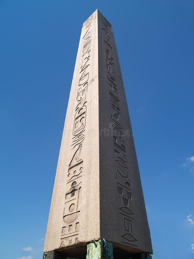 obelisk starożytnego Egiptu zdjęcie stock