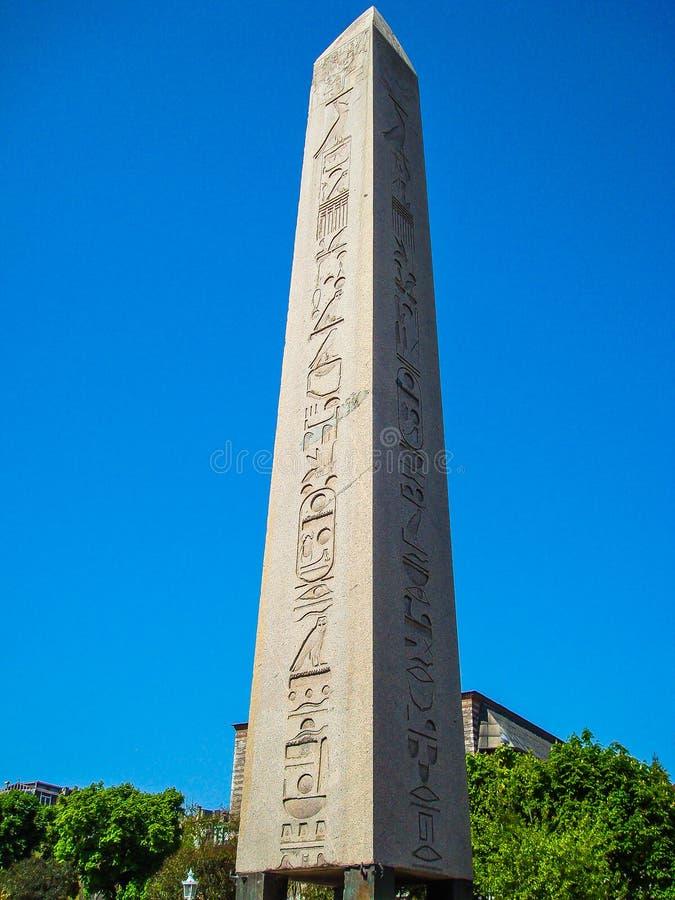 Obelisk van Theodosius stock afbeelding