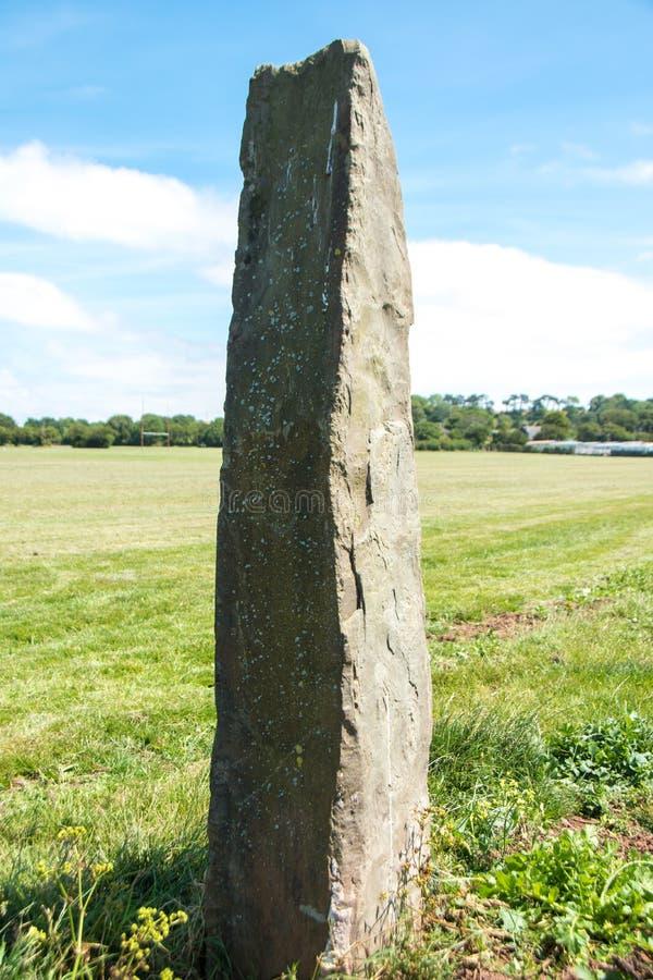 Obelisk vid havet royaltyfri foto