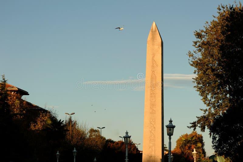 Obelisk Von Thutmosis III Lizenzfreie Stockfotografie