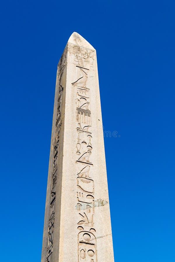 Obelisk w hipodromu Constantinople w sułtanu Ahmet kwadracie zdjęcie royalty free