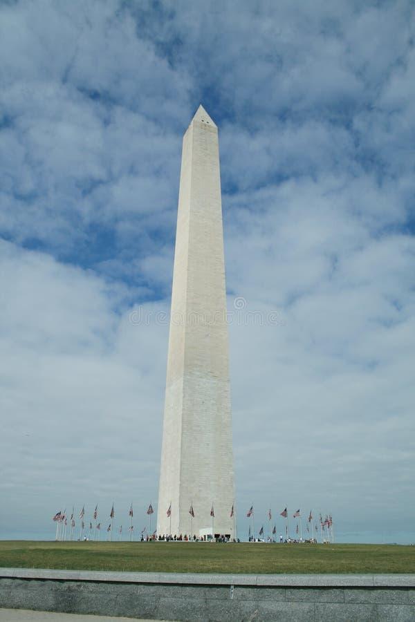 Obelisk in Washington DC royalty free stock photography