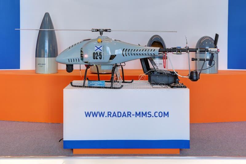Obemannad helikopter royaltyfri fotografi