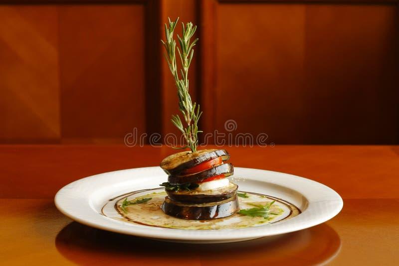oberżyna piec na grillu fotografia royalty free