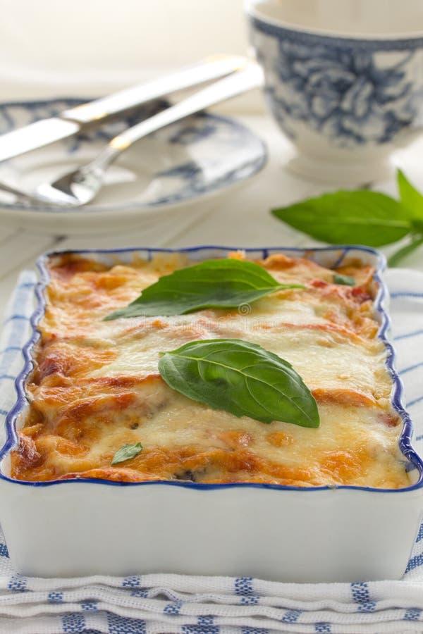 Oberżyny parmigiano zdjęcia royalty free