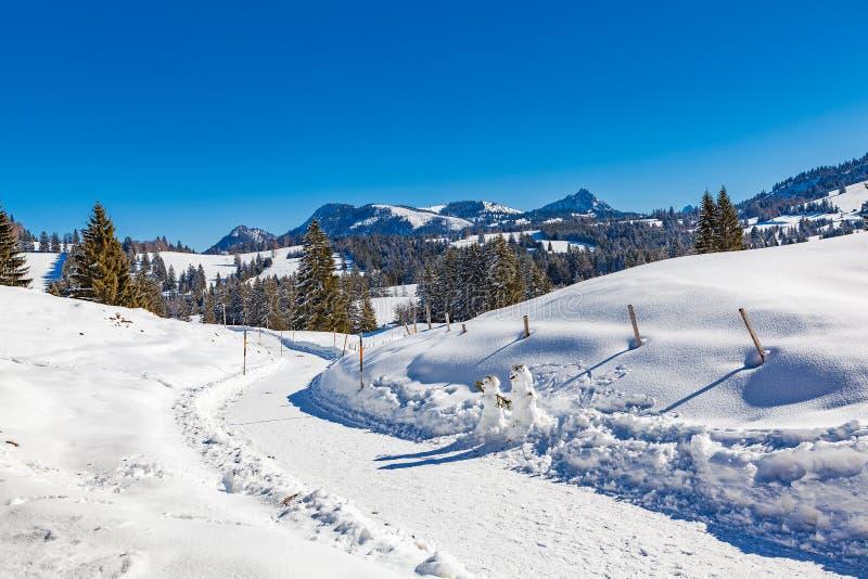 Oberallgau fotografia de stock