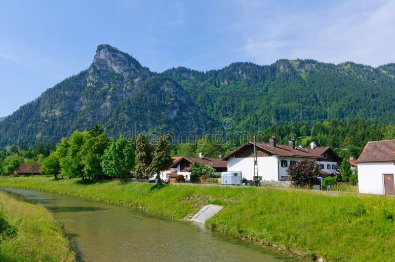 Oberammergau, Niemcy zdjęcia royalty free