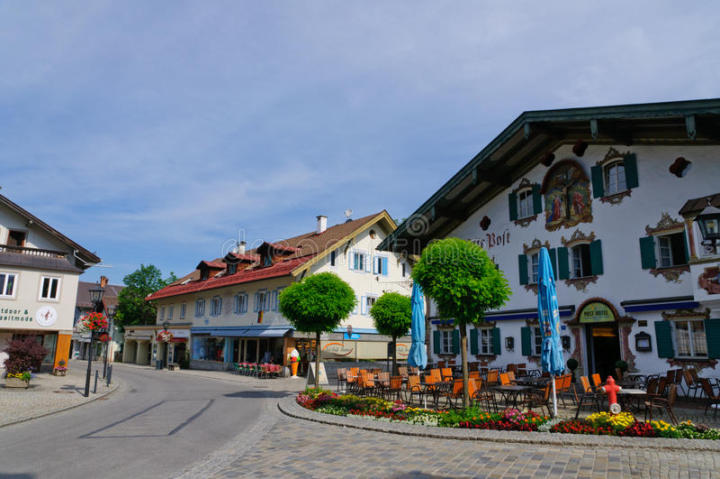 Oberammergau, Niemcy obraz royalty free