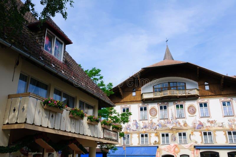 Oberammergau, Niemcy zdjęcia stock