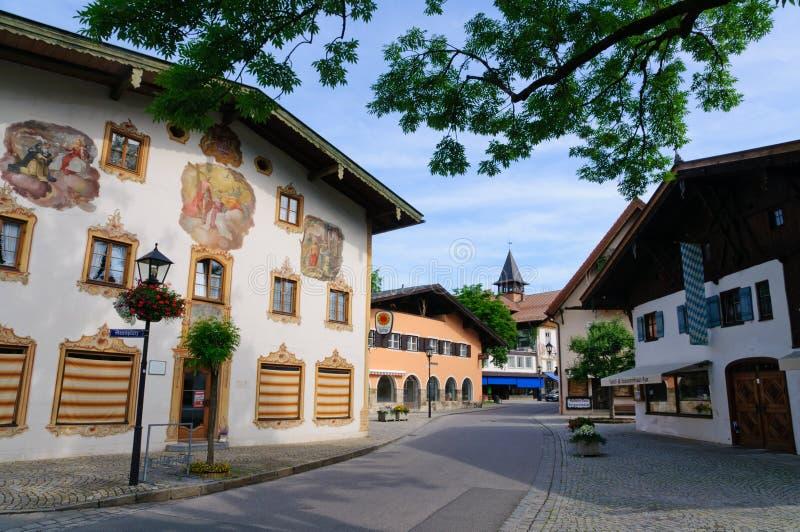 Oberammergau, Niemcy fotografia stock