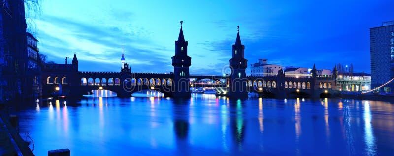 oberbaum моста berlin стоковое фото