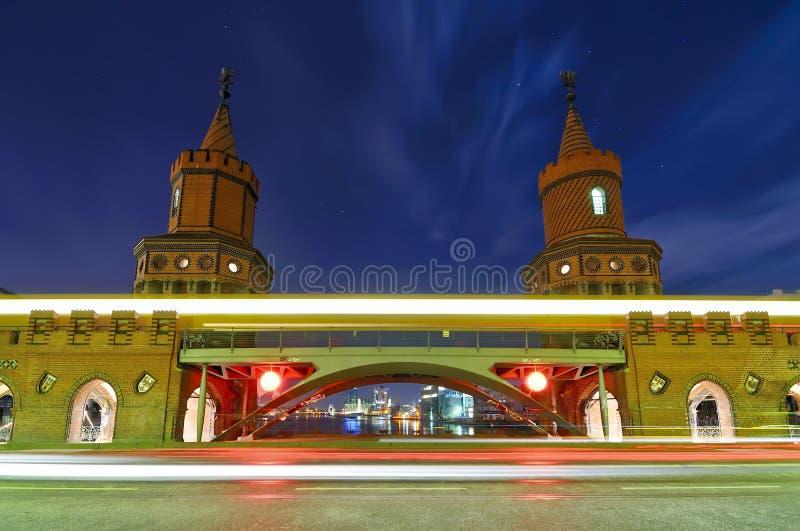 oberbaum моста berlin стоковое изображение rf