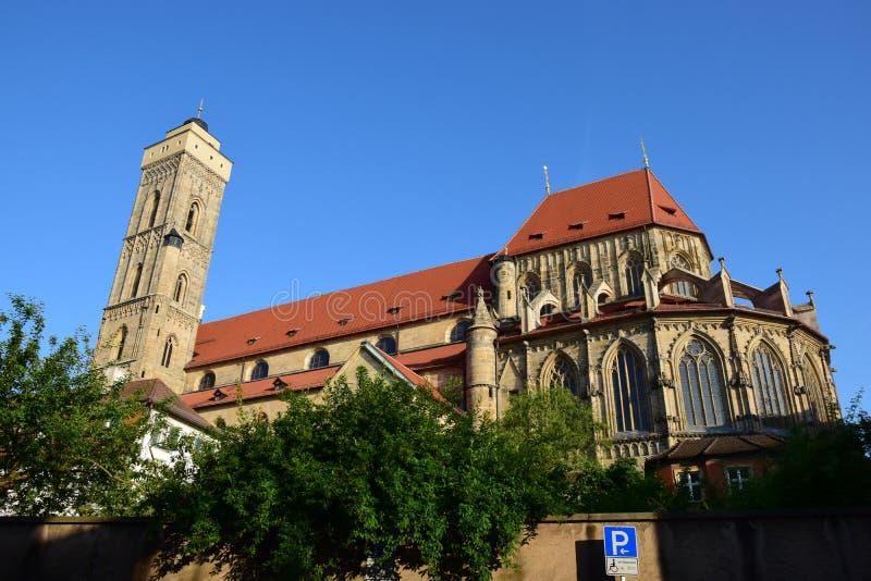 Download Obere Pfarre Kościół W Bamberg, Niemcy Zdjęcie Stock Editorial - Obraz złożonej z kościół, budynek: 57655918
