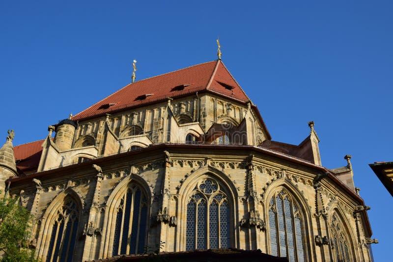 Download Obere Pfarre Kościół W Bamberg, Niemcy Obraz Editorial - Obraz złożonej z niemcy, widok: 57660990