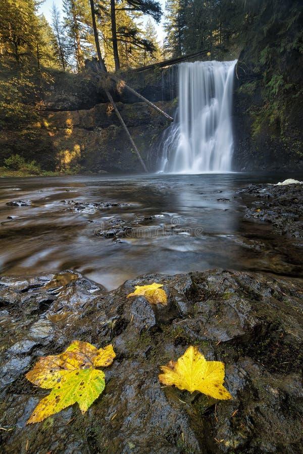 Oberer Norden fällt in Herbst lizenzfreie stockfotos