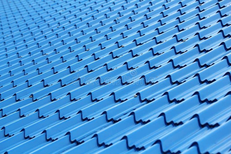Oberfläche des modernen und stilvollen Dachs stockfoto
