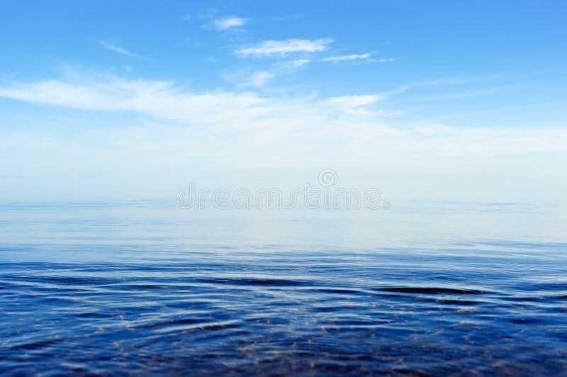 Oberfläche des Ozeans lizenzfreie stockbilder