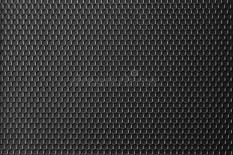 Oberfläche des schwarzen Mustermetalls ist ein Tabellenhintergrund lizenzfreie stockbilder