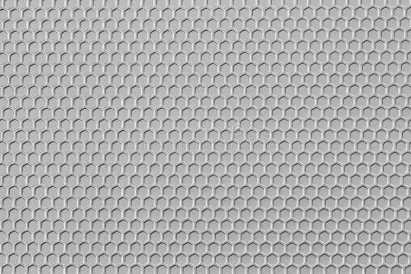 Oberfläche des weißen Mustermetalls ist ein Tabellenhintergrund lizenzfreies stockfoto