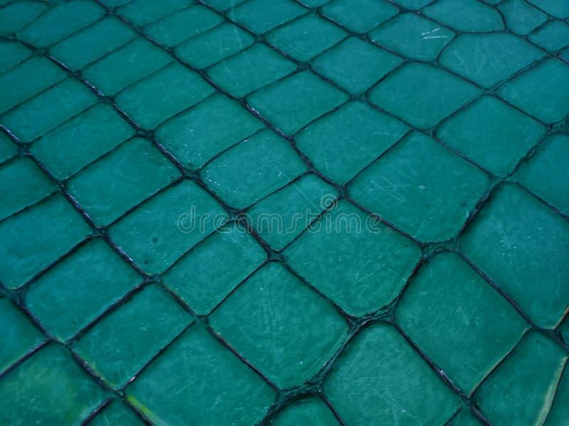 Oberfläche mit aquamarinen farbigen Steinblöcken für Innen- und Dekoration, Hintergrund und Beschaffenheit im Freien stockbilder